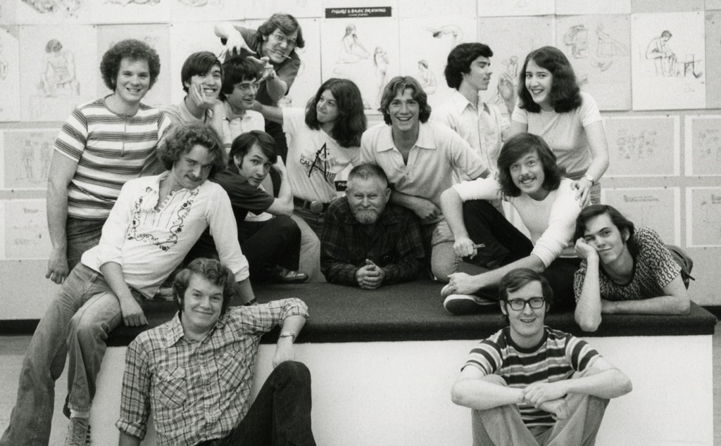 Brad Bird, John Lasseter et Tim Burton au CalArts
