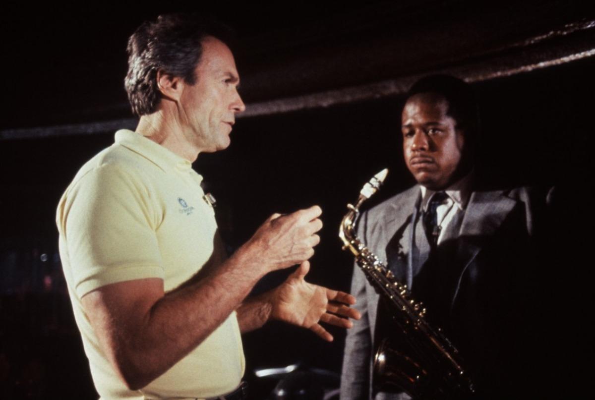 Clint Eastwood sur le tournage de Bird