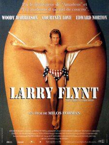 Affiche de Larry Flynt de Milos Forman