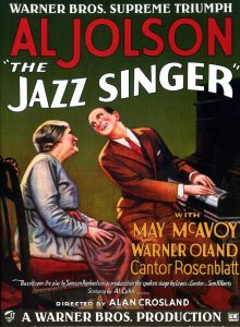 Affiche du Chanteur de Jazz (The Jazz Singer)