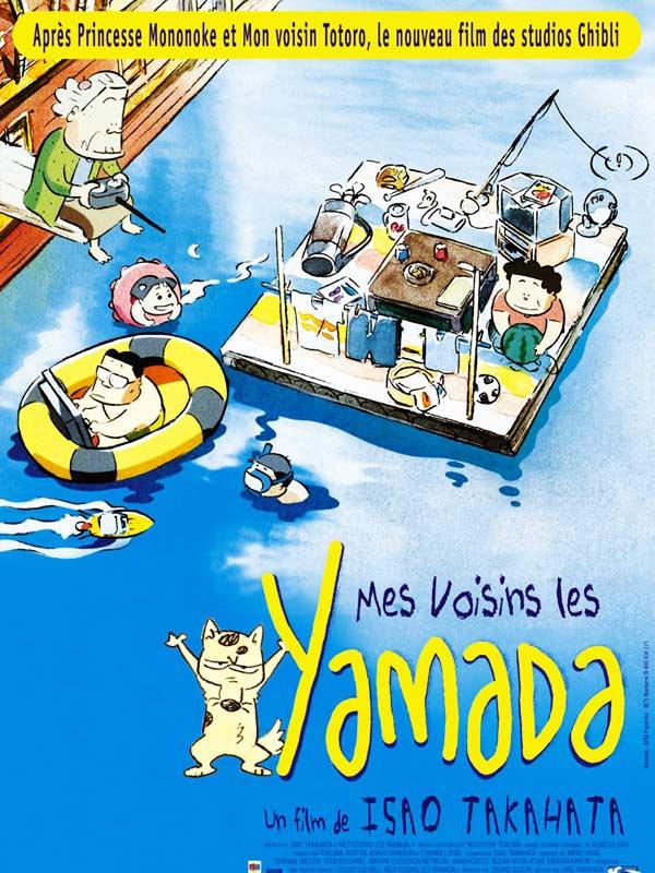 affiche de Mes Voisins les Yamada d'Isao Takahata