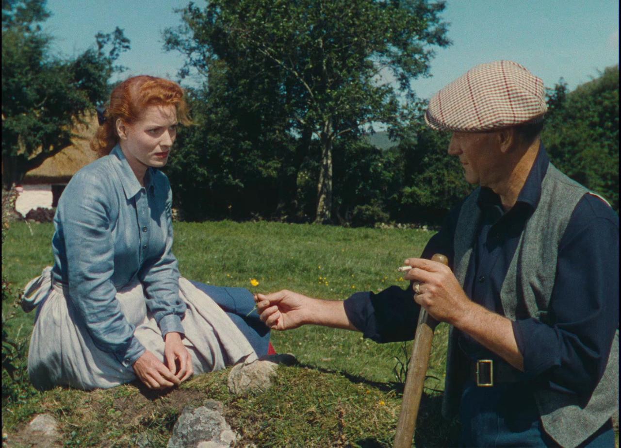 Maureen O'Hara et John Wayne dans l'Homme Tranquille de John Ford