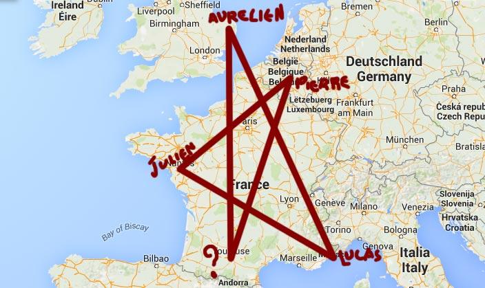 Carte occulte des chroniqueurs de Cinéphylis