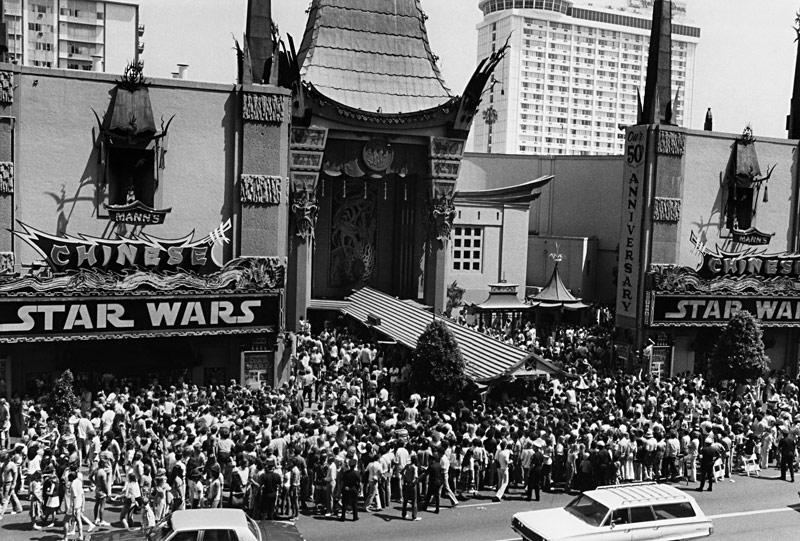 Avant-première de Star Wars au Grauman's Chinese Theatre