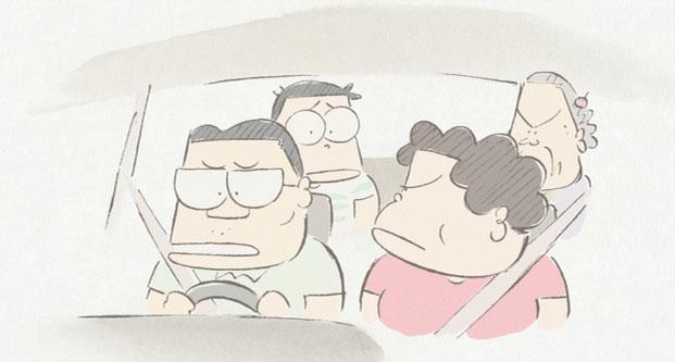 Un trait radicalement différent de celui d'Hayao Miyazaki