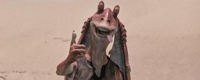 Jar Jar Binks dans Star Wars, épisode I : La Menace fantôme
