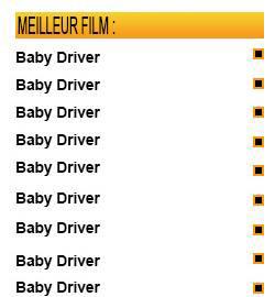Oscar 2018 : Baby Driver