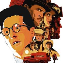 Barton Fink et Ave, César des frères Coen par M. Bobine