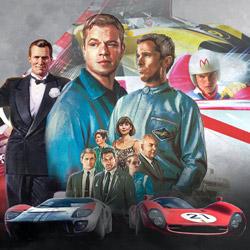 Speed Racer, Tucker, et Le Mans 66 : l'art et les bagnoles par M. Bobine